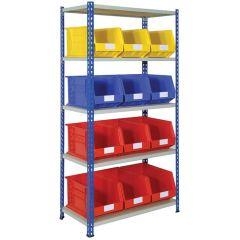 Storage Kit with 12 Bins
