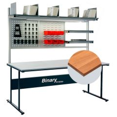 Binary Workbench with Solid Beech Top - 240kg