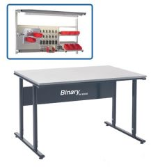 Binary Height Settable Workbench- Laminate Top