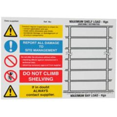 Pallet Racking Safety Notice
