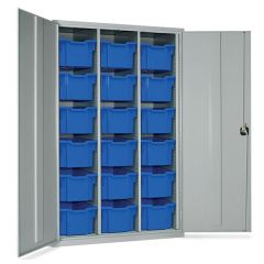 18 Tray High Capacity Storage Cupboards