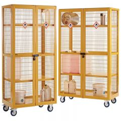 Boxwell Hazardous Mobile Storage Cages