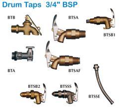 """Drum Taps 3/4"""" BSP"""