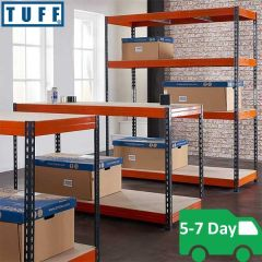 TUFF Longspan Shelving Bundle Deal - 450kg UDL