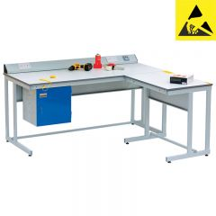Cantilever Static Dissipative (ESD) Workbenches