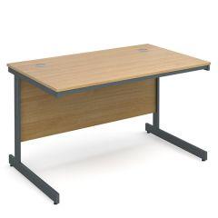 Maestro Cantilever Desk - Oak - W 1228
