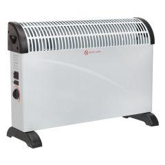 Convector Heater 2000W 3 Heat Settings Thermostat Turbo Fan CD2005T