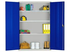 Extra Wide Cupboards with 3 Adjustable full width shelves