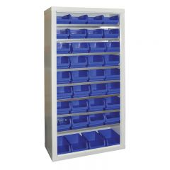 Armour Container Cupboard with 36 Medium Bins