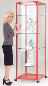 Display & Trophy Cabinets - Tower Unit