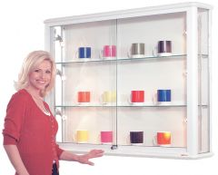 Display & Trophy Cabinets - Wall Cabinet