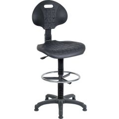 Labour Pro Draughter Chair - Fixed foot ring