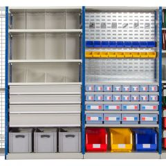 Accessories for E4 Shelving Bays
