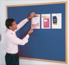 Eco-Friendly Noticeboard (Light Oak Effect)
