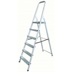 EN131 Trade Platform Step Ladders