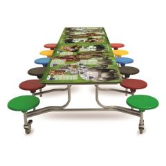 12 Seat 'SmartTop' Table Seating Units - Animal