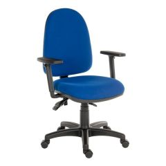 Ergo Trio Office Chair - Blue