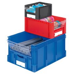 Euro Containers - Pick and view shown stacked