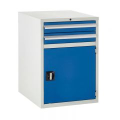 600 Euroslide Cabinets - 2 Drawer & Cupboard.