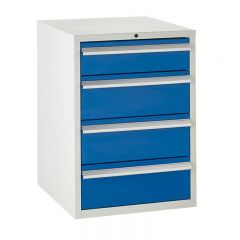 600 Euroslide Cabinets - 4 Drawers.