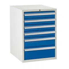 600 Euroslide Cabinets - 6 Drawers.