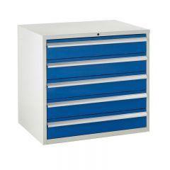 900 Euroslide Cabinets - 5 Drawers.