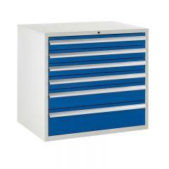 900 Euroslide Cabinets - 6 Drawers.