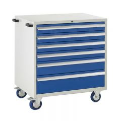 900 Euroslide Mobile Cabinets - 6 Drawers.