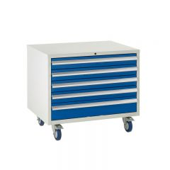 Under Bench Euroslide Cabinet - 5 Drawers