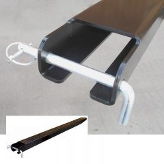 Fork Extensions - showing close up of locking mechanism