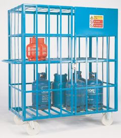 Gas Cylinder Cage - PAINTED