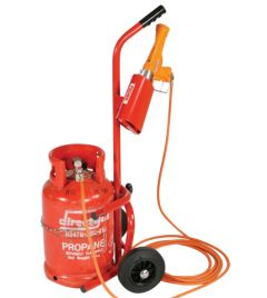 Propane Gas Cylinder Trolley - (Trolley ONLY)