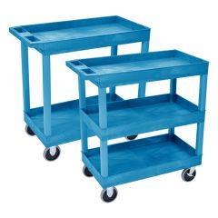 Plastic Multi-Purpose Tray Trolleys
