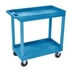 Plastic Multi-Purpose Trolley - 2 Storage trays