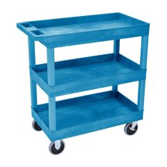 Plastic Multi-Purpose Trolley - 3 Storage trays