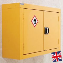 Hazardous Storage Wall Cupboard
