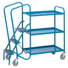 Order Picking Trolley with steel trays