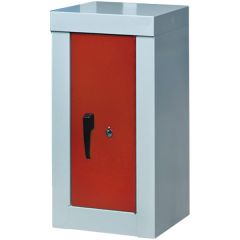 Heavy Duty Security Cupboards, red door