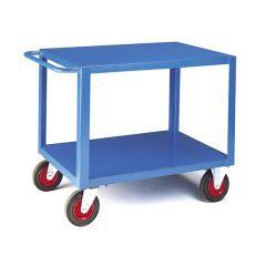 Heavy Duty Table Trucks - Steel Top & Bottom Shelf