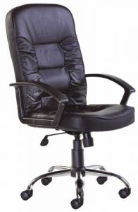 Hertford Leather Managers Office Chair