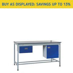 Square Tube Industrial Workbench Kit 1 - 13% Savings