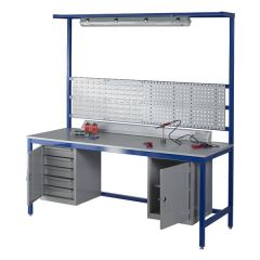 Laminate Worktop Assembly Workbenches - 500kg UDL