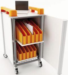 Mini LapCabby Vertical Netbook Storage Trolleys