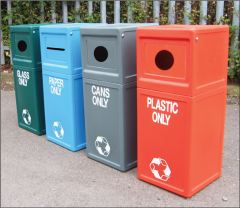 Waste Recycle Bins - All Types