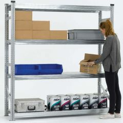 Long Span Bolt Free Shelving starter bay