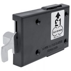 Wet or Dry Area Locks available, Coin Return Version