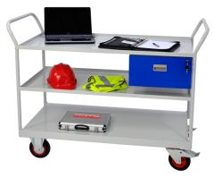 Heavy Duty Maintenance Trolleys with Drawer and 3 Shelves