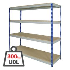Medium Duty Rivet Racking with 300kg UDL