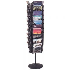 Mesh Freestanding Literature Dispenser