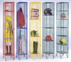 Tuff Colour Mesh Lockers